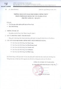 Hợp đồng ký kết