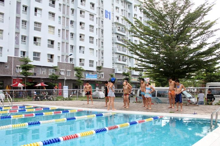 Hồ bơi Ehome 3