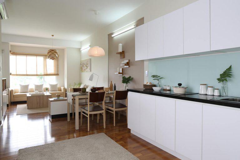 Thiết kế phòng bếp Flora Anh Đào