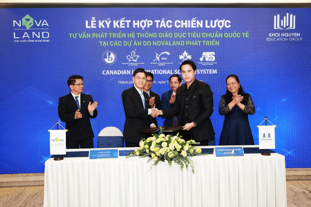 Ký kết xây dựng hệ thống trường học liên cấp cho đô thị sinh thái Aqua City