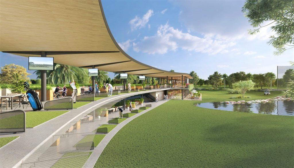 Sân golf khu đô thị Stella Mega City