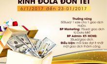18 ngày đêm đoàn kết – Rinh Dollar đón Tết